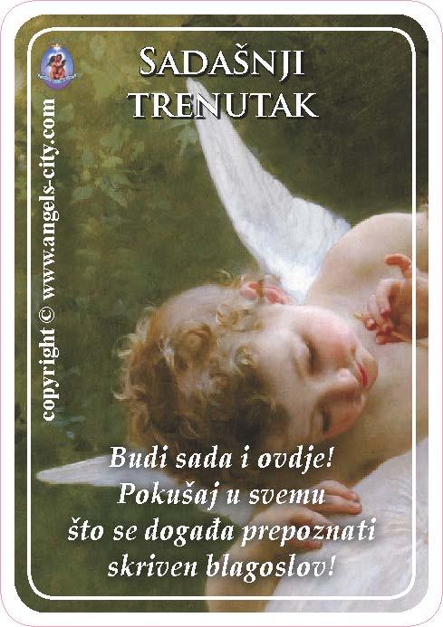 Anđeoski vodič: Anđeoske kartice - Sadašnji trenutak