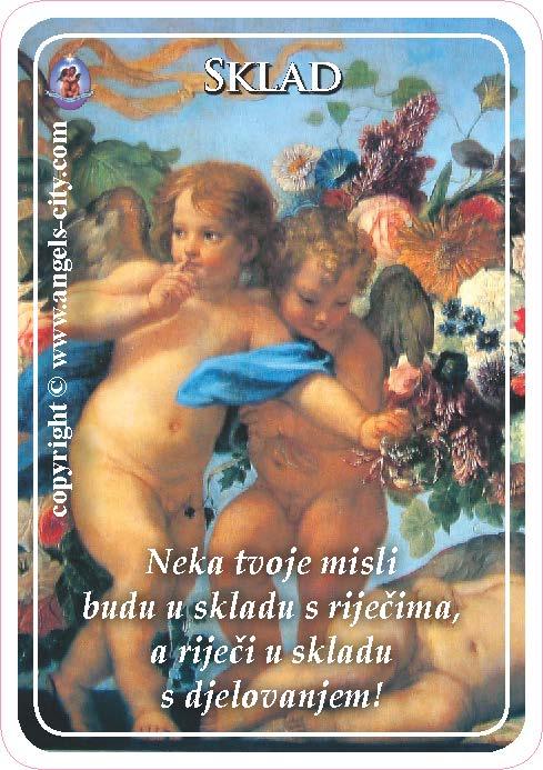 Anđeoski vodič: Anđeoske kartice - Sklad