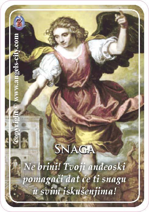 Anđeoski vodič: Anđeoske kartice - Snaga