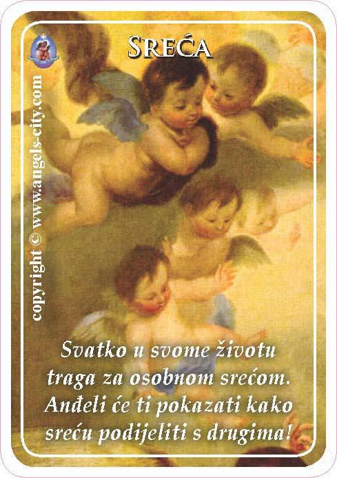 Anđeoski vodič: Anđeoske kartice - Sreća