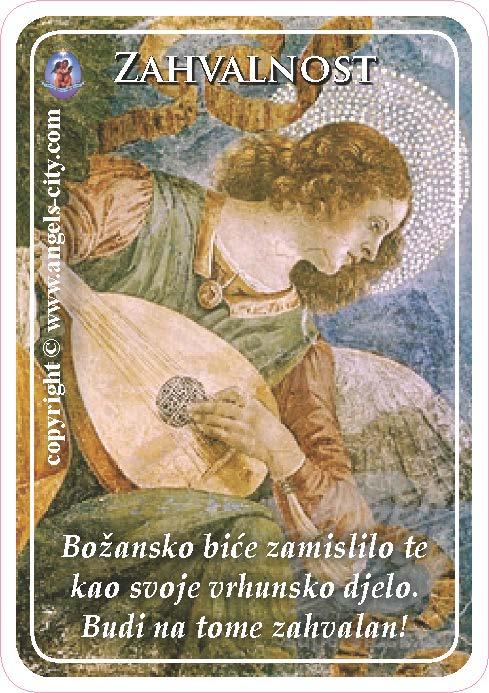 Anđeoski vodič: Anđeoske kartice - Zahvalnost