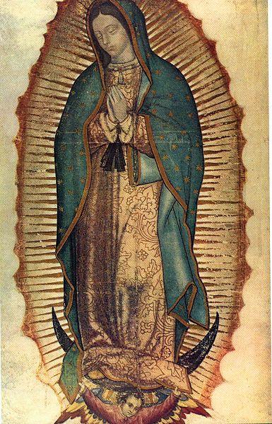 Svetac dana –  Gospa od Guadalupe