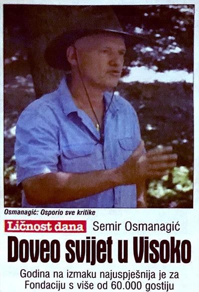 dr. Semir Osmanagić LIČNOST DANA: Doveo svijet u Visoko