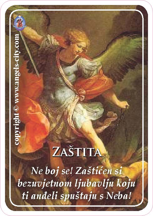 Anđeoski vodič: Anđeoske kartice - Zaštita