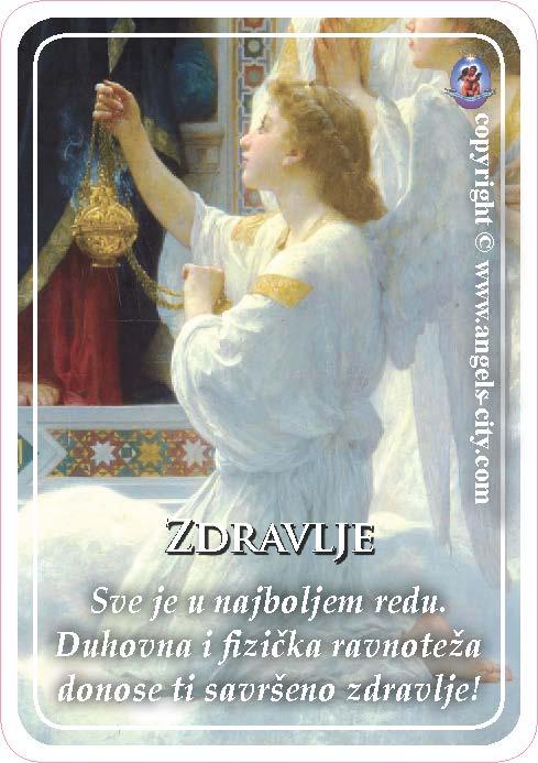 Anđeoski vodič: Anđeoske kartice - Zdravlje