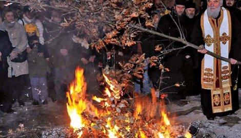 Pravoslavni Božić - Danas badnji dan
