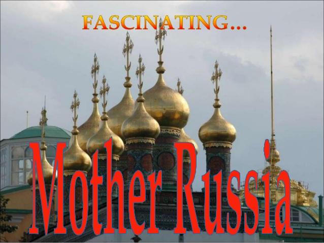 Fascinatna majka Rusija