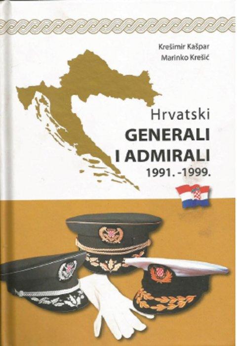 """""""Hrvatski GENERALI I ADMIRALI 1991.-1999."""" - promocija knjige"""