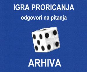 Igra proricanja - arhiva