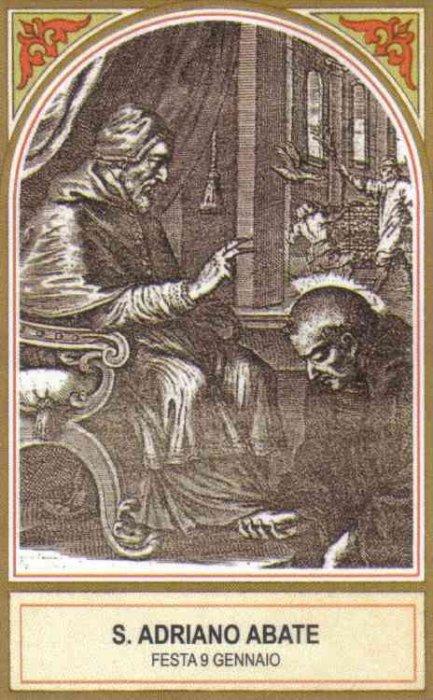 Svetac dana – Sveti Adrian