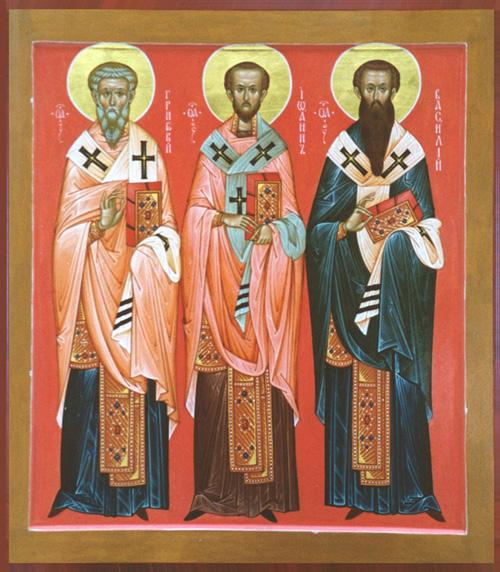 Svetac dana – Sveti Bazilije Veliki i Grgur Nazijanski
