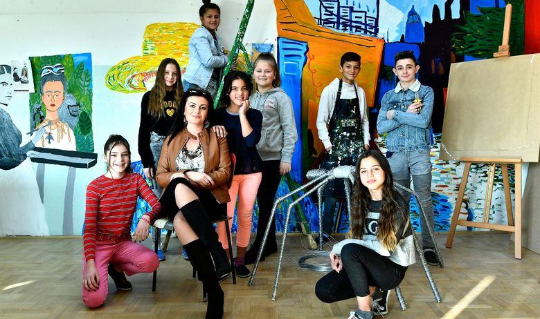 ŠKOLA KOJU SVI IZBJEGAVAJU DANAS JE NEPRESUŠNI IZVOR TALENATA Pogledajte radove mladih umjetnika: 'Kad odrastem bit ću Van Gogh!'