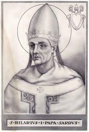 Svetac dana – Sveti Hilarije papa