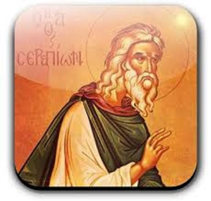 Svetac dana – Sveti Serapion iz Thmuisa