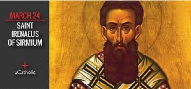 Svetac dana – Sveti Irenej Srijemski