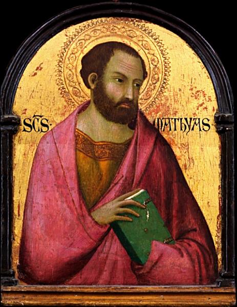 Svetac dana – Sveti Matija