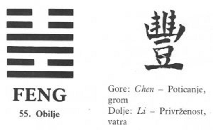 I CHING - 55.FENG - Obilje