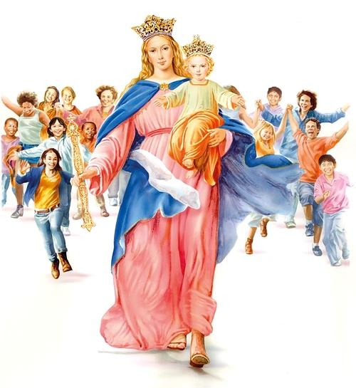 Svetac dana – Marija pomoćnica