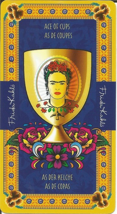 Frida Kahlo Tarot - MALE ARKANE - AS PEHARA