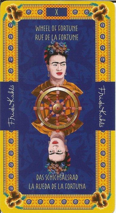 Frida Kahlo Tarot - VELIKE ARKANE - FORTUNA