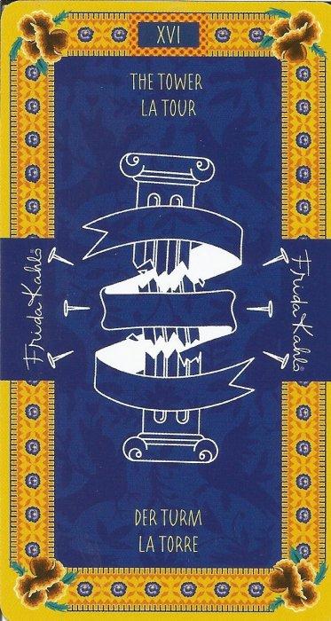 Frida Kahlo Tarot - VELIKE ARKANE - KULA