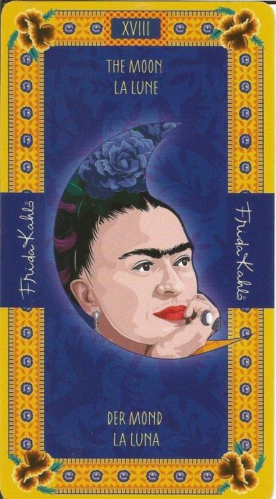 Frida Kahlo Tarot - VELIKE ARKANE - MJESEC