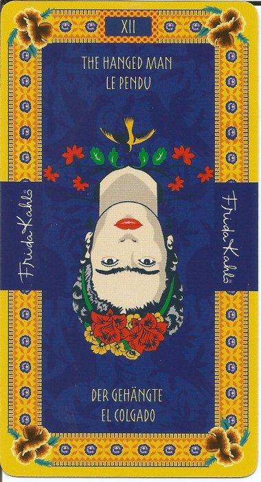 Frida Kahlo Tarot - VELIKE ARKANE - OBJEŠENI ČOVJEK
