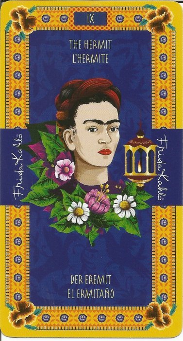 Frida Kahlo Tarot - VELIKE ARKANE - PUSTINJAK