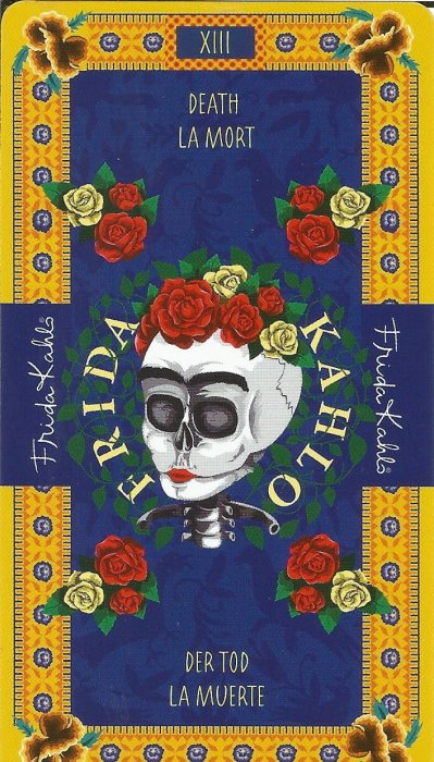 Frida Kahlo Tarot - VELIKE ARKANE - SMRT
