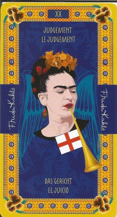 Frida Kahlo Tarot - VELIKE ARKANE - SUD