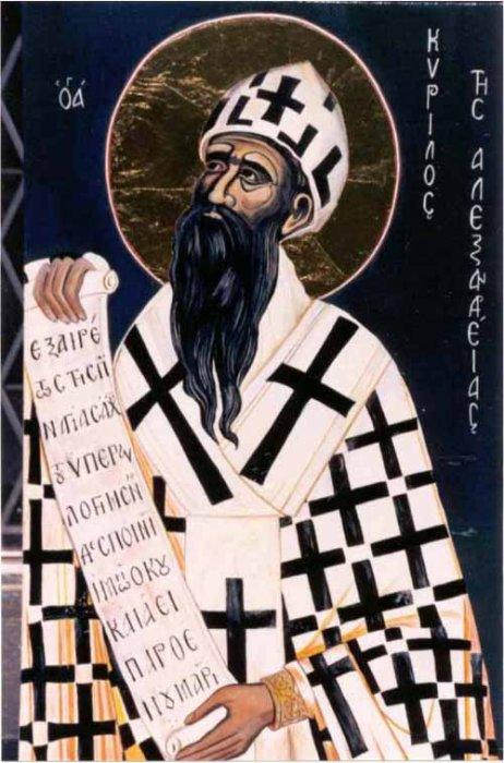 Svetac dana – Sveti Ćiril Aleksandrijski