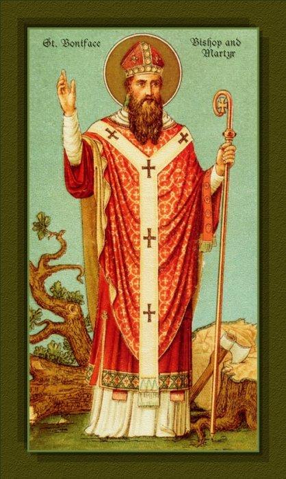 Svetac dana – Sveti Bonifacije
