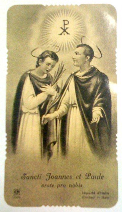 Svetac dana – Sveti Ivan i Pavao
