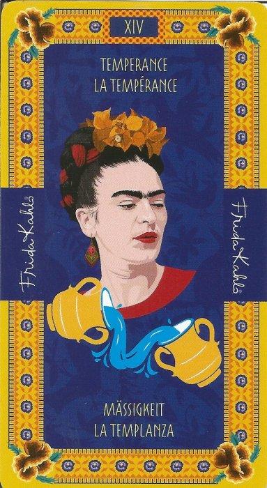 Frida Kahlo Tarot - VELIKE ARKANE - UMJERENOST