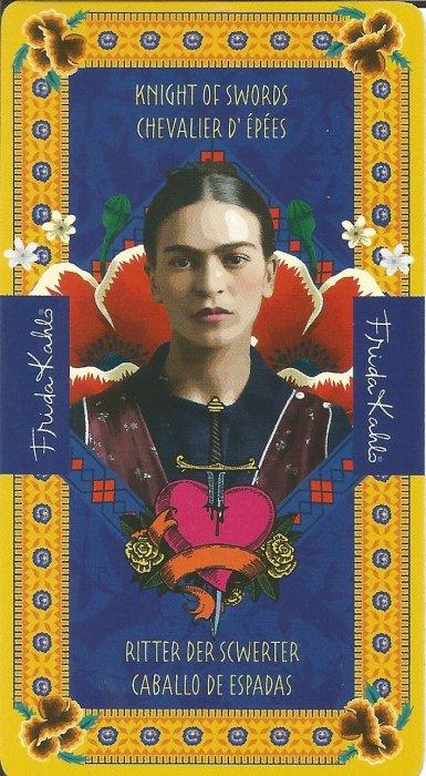 Frida Kahlo Tarot - MALE ARKANE - VITEZ MAČEVA