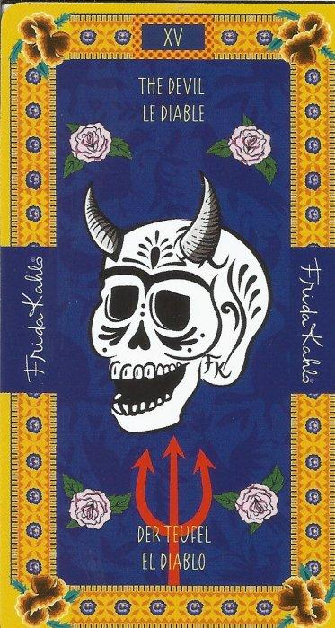Frida Kahlo Tarot - VELIKE ARKANE - VRAG