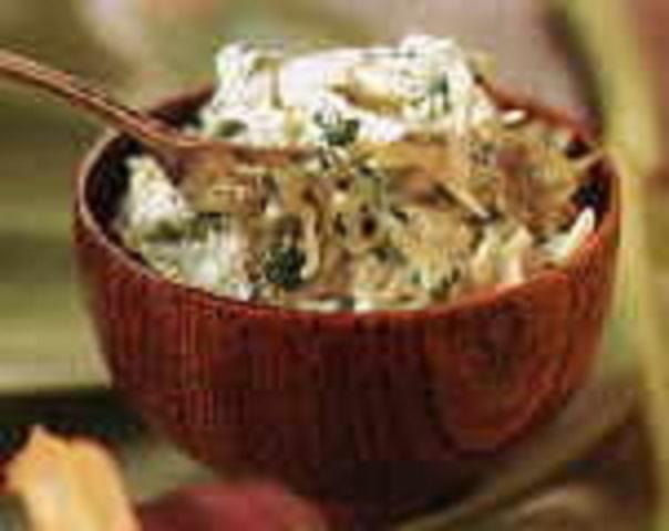 Vegetarijanska kuhinja - Krumpir s mladim sirom