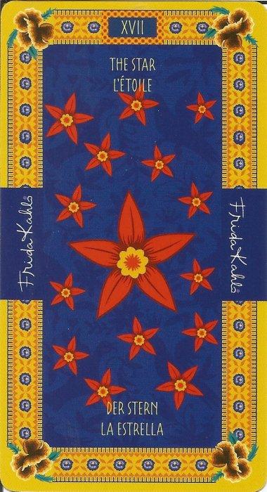 Frida Kahlo Tarot - VELIKE ARKANE - ZVIJEZDA