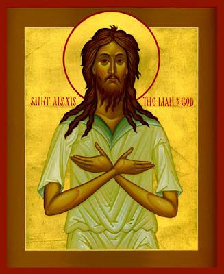 Svetac dana – Sveti Aleksije
