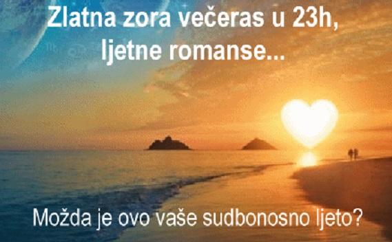 Zlatna zora večeras u 23h: Ljetne romanse + Anđeoske poruke + Sretni brojevi