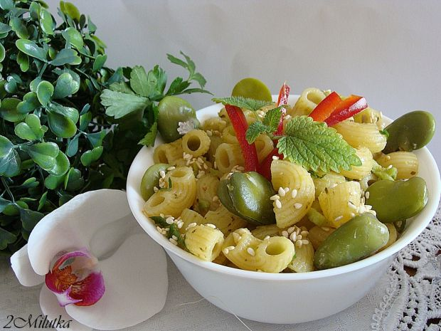 Vegetarijanska kuhinja - Makaroni s bobom