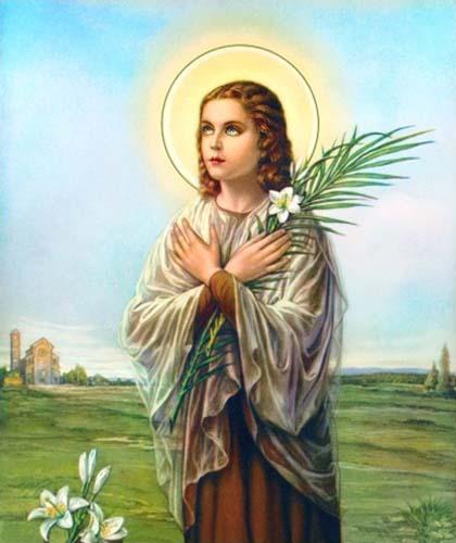 Svetac dana – Sveta Marija Goretti