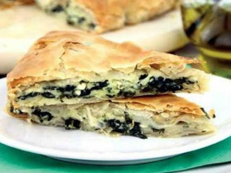 Vegetarijanska kuhinja - Zelena pita II.