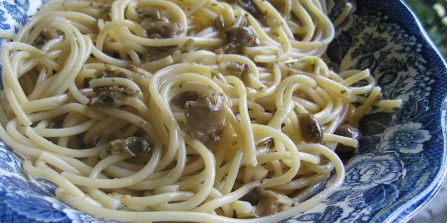Vegetarijanska kuhinja - Špageti s kaparima