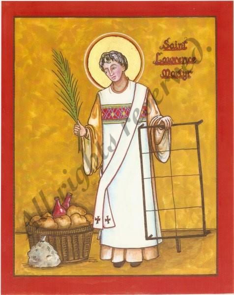 Svetac dana – Sveti Lovro, đakon i mučenik