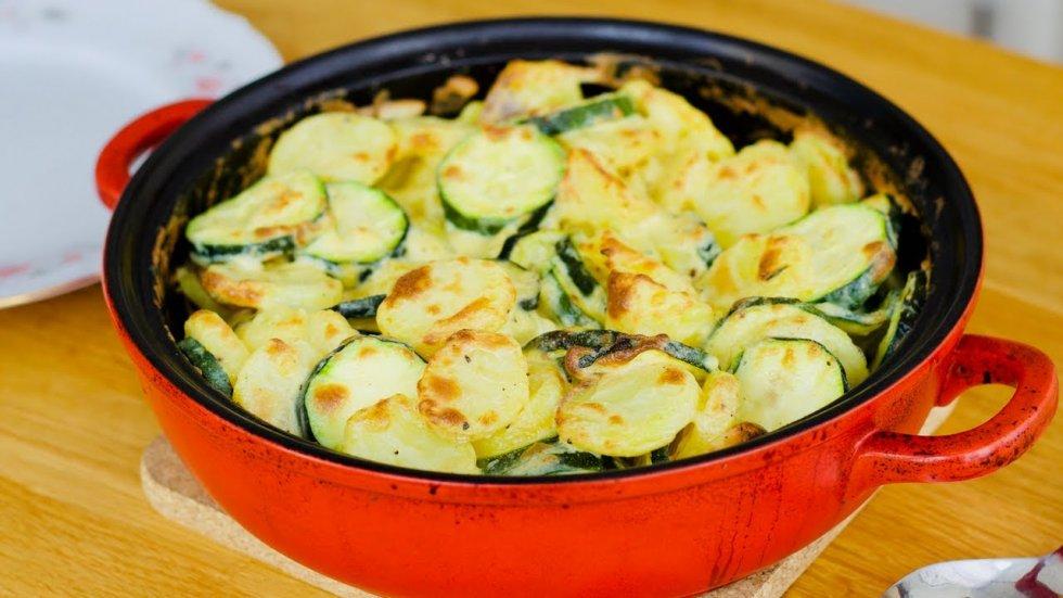 Vegetarijanska kuhinja - Tikvice s krumpirom