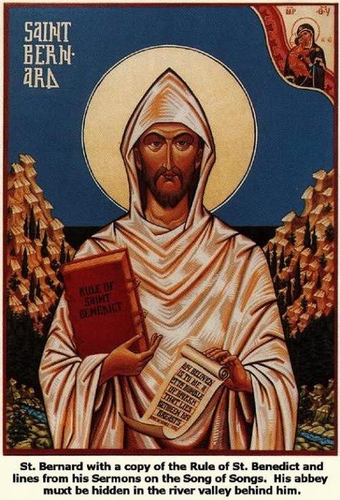 Svetac dana – Sveti Bernard