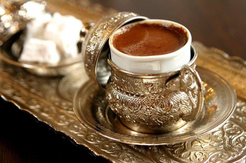Pripremanje kave za gatanje
