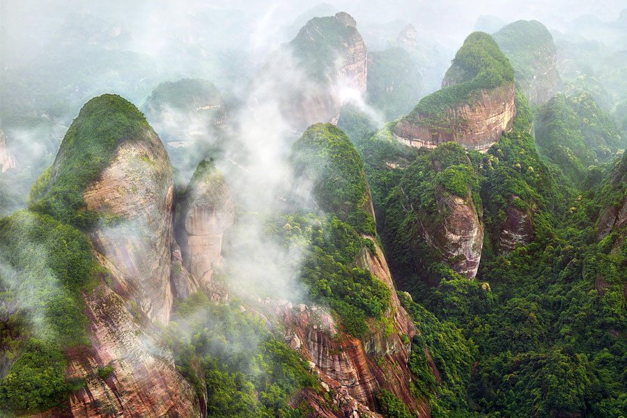 Danxia – Kineski geološki fenomen