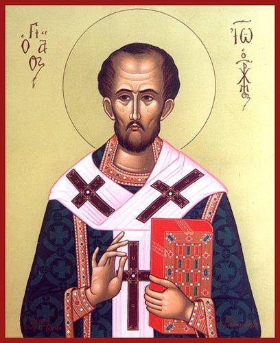 Svetac dana – Sveti Ivan Zlatousti